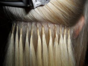 blonde keratin bonds